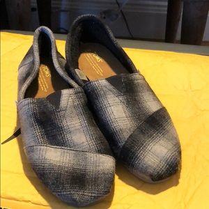 TOMS Sherpa/Wool Plaid Originals